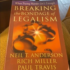 """Other - Like new book""""Breaking the Bondage of Legalism"""""""